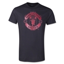 Manchester United Metallic Crest T-Shirt