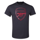 Arsenal Metallic Crest T-Shirt