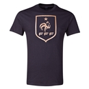 France Metallic Crest T-Shirt