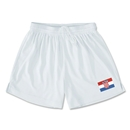 Croatia Team Soccer Shorts (White)