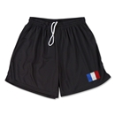 France Team Soccer Shorts (Black)