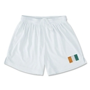 Cote d'Ivoire Team Soccer Shorts (White)