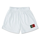 Portugal Team Soccer Shorts (White)