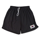 South Korea Team Soccer Shorts (Black)