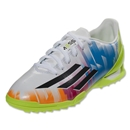 adidas F10 Turf Junior Messi (White/Black)
