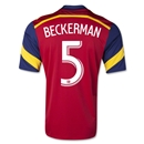 Real Salt Lake 2014 BECKERMAN Home Soccer Jersey