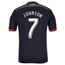 DC United 2014 JOHNSON Authentic Primary Soccer Jersey