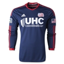New England Revolution LS Authentic Primary Soccer Jersey