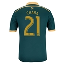 Portland Timbers 2014 CHARA Authentic Third Soccer Jersey