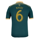 Portland Timbers 2014 NAGBE Authentic Third Soccer Jersey