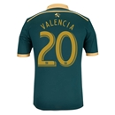 Portland Timbers 2014 VALENCIA Authentic Third Soccer Jersey