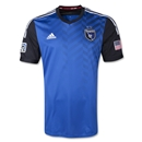 San Jose Earthquakes 2014 Authentic Primary Soccer Jersey