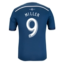 Vancouver Whitecaps 2014 MILLER Authentic Secondary Soccer Jersey