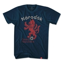 Objectivo Czech Republic Lion T-Shirt (Navy)