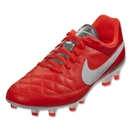 Nike Tiempo Genio Leather FG (Total Crimson)