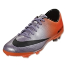Nike Junior Mercurial Vapor IX FG (Metallic Mach Purple/Black/Total Orange)