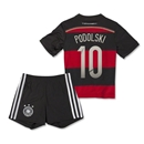 Germany 2014 PODOLSKI Away Mini Kit