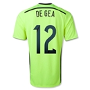 Spain 2014 DE GEA Away Keeper Soccer Jersey