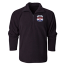 Croatia Flag Crest 1/4 Fleece Pullover