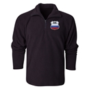 Russia Flag Crest 1/4 Fleece Pullover