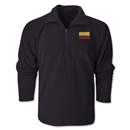 Colombia Flag 1/4 Fleece Pullover