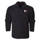 Madagascar Flag 1/4 Fleece Pullover