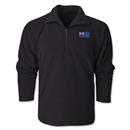 New Zealand Flag 1/4 Fleece Pullover