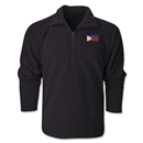 Philippines Flag 1/4 Fleece Pullover