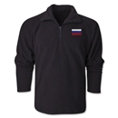 Russia Flag 1/4 Fleece Pullover