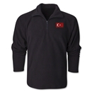 Turkey Flag 1/4 Fleece Pullover