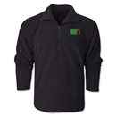 Zambia Flag 1/4 Fleece Pullover