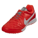 Nike Tiempo Genio Leather TF (Total Crimson)