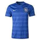 Brazil 14/15 Authentic Away Soccer Jersey