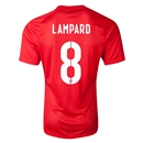 England 2014 LAMPARD Authentic Away Soccer Jersey
