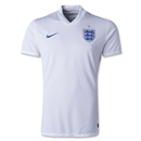 England 2014 Authentic Home Soccer Jersey