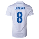 England 2014 LAMPARD Authentic Home Soccer Jersey
