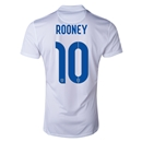 England 2014 ROONEY Authentic Home Soccer Jersey