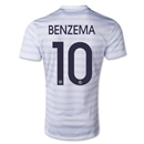 France 2014 BENZEMA Away Soccer Jersey