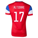 USA 2014 ALTIDORE Away Soccer Jersey