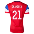 USA 2014 CHANDLER Away Soccer Jersey