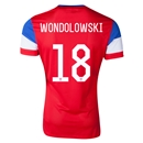 USA 2014 WONDOLOWSKI Away Soccer Jersey