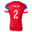 USA 2014 YEDLIN Away Soccer Jersey