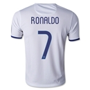 Portugal 2014 RONALDO Youth Away Soccer Jersey