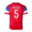 USA 2014 BESLER Youth Away Soccer Jersey