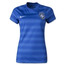 Brazil 2014 Women's Away Soccer Jersey