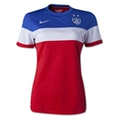 USA 2014 Women's Away Soccer Jersey