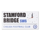 Chelsea Street Sign Canvas Clock
