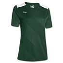 Under Armour Women's Fixture Jersey (Dk Gr/Wht)