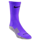 Nike Stadium Soccer Crew Sock (Purple)