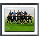 Sporting KC Team 2013 Double Matted Framed Photo